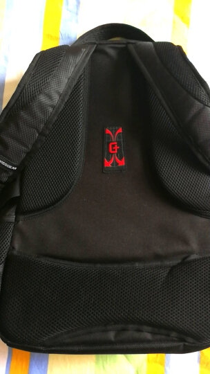 SWISSGEAR 双肩包【破冰行动】同款背包男14.6英寸/15.6英寸笔记本电脑包学生书包SA-9393III黑色 晒单图