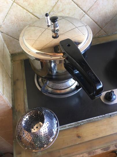苏泊尔(SUPOR) 压力锅 304不锈钢高压锅  燃气煤气电磁炉通用快煮锅 家用厨具 5.2L锅口径22cm YS22ED 3-4人使用 晒单图