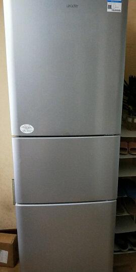 三门冰箱小型 家用节能静音 三开门冰箱 中门变温 007软冷冻 家用电冰箱 银色 晒单图