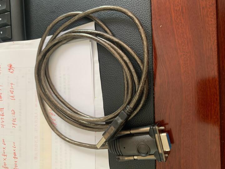 优越者(UNITEK)usb转com串口线  DB9针串口连接线0.5米 支持考勤机收银机标签打印机串口调试线 Y-109 晒单图