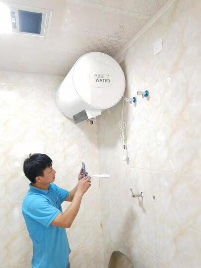 美的(Midea)60升电热水器 无线遥控 加长防电墙 健康洗 8年包修 F60-21BA1(HY) 晒单图
