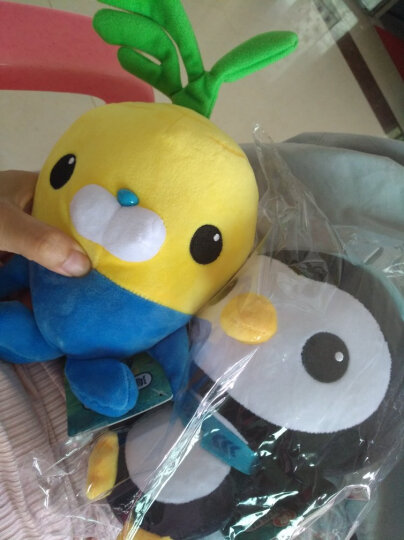 海底小纵队 OCTONAUTS 毛绒玩具布娃娃儿童生日礼物 小萝卜 晒单图