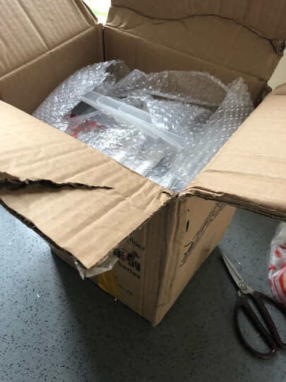 百露冰箱保鲜盒收纳盒 食品储物盒杂粮收纳箱厨房收纳筐 收纳用品 超值3个装 晒单图