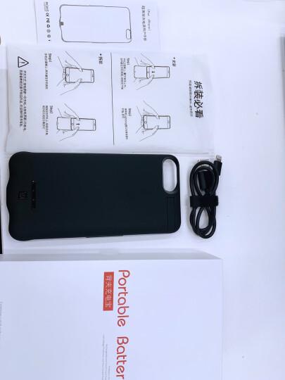 【次日达】泰火超薄小巧充电宝苹果手机壳iphone6/7/8plus背夹电池XR/XSMAX移动电源 苹果X/苹果XS专用(升级大容量)睿智黑 晒单图