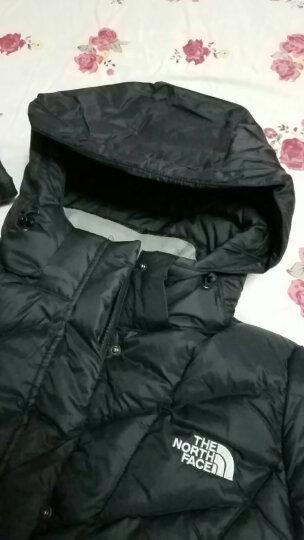 【经典款】TheNorthFace北面秋冬户外长款女北面羽绒服外套|3CGQ JK3/黑色 XL 晒单图