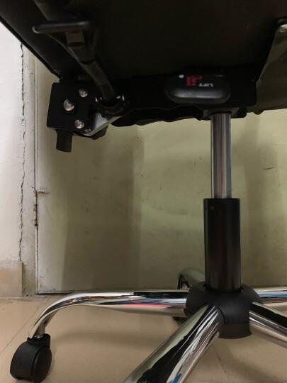 创姿电脑椅家用皮椅办公椅子老板椅职员椅可躺可选择按摩搁脚升降座椅人体工学椅游戏椅学生主播椅 黑色款 可躺定位 晒单图