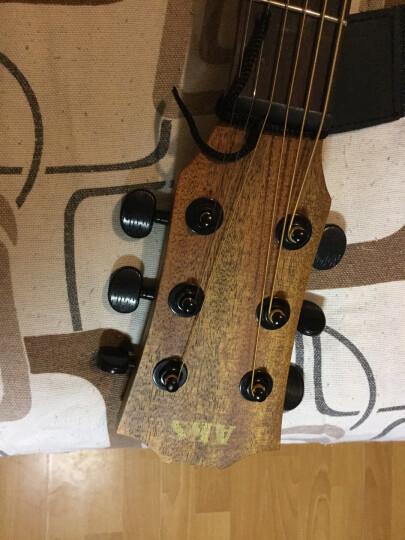 卡农(KANONG) 民谣吉他木吉他单板吉他41寸吉它乐器新手入门专业云杉初学者吉他学生 GK 38寸 民谣吉他 晒单图