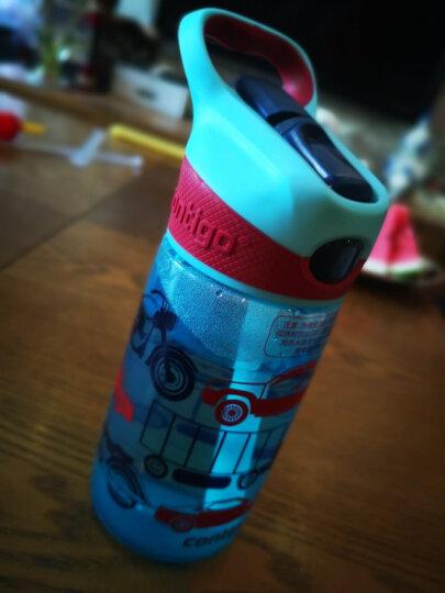 美国contigo康迪克儿童塑料吸管水杯便携运动水杯450ML小美人鱼HBC-STR078 晒单图