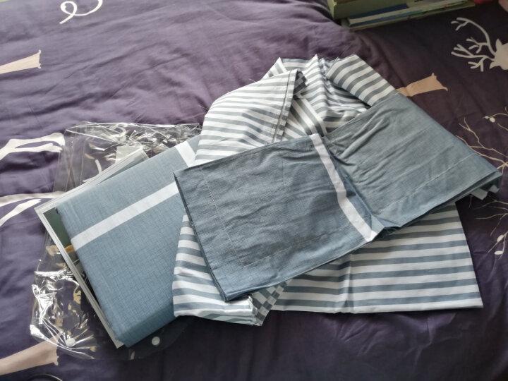 雅鹿·自由自在 三件套纯棉家纺 全棉床上用品床单三件套 床单+枕套2只 1米/1.2米床 松香迷情 晒单图