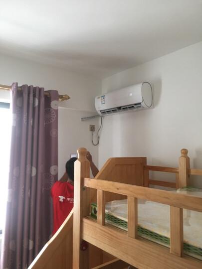 美的(Midea)1匹 智弧 智能 静音 光线感应 定速冷暖 壁挂式卧室空调挂机 KFR-26GW/WDAD3@ 晒单图