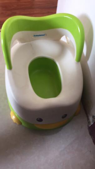 世纪宝贝(babyhood)儿童马桶宝宝坐便器婴儿便盆 幼儿男女小孩尿盆 绿色 BH-114 晒单图