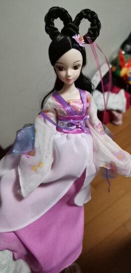 可儿娃娃(kurhn)古装娃娃 女孩儿童玩具 生日礼物 公主洋娃娃玩具 红衣仙子 1136 晒单图