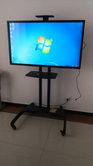 互视达(HUSHIDA)触摸屏电视会议多媒体触控电子白板教学一体机会议平板电脑高清液晶屏 Windows达配i7(带支架) 65英寸(双系统) 晒单图
