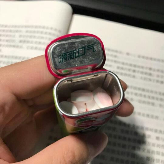 绿箭(DOUBLEMINT)无糖薄荷糖黑加仑子味35粒23.8g单盒金属装(新旧包装随机发) 晒单图