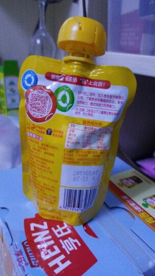 亨氏 (Heinz)4段  婴幼儿辅食 宝宝零食 苹果香蕉 乐维滋婴儿辅食水果泥120g(1-3岁适用) 晒单图