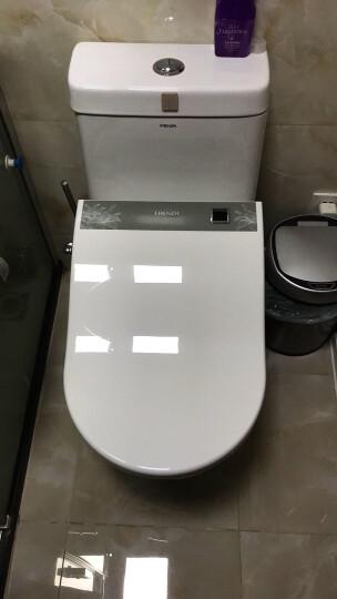 法恩莎(FAENZA) 座便器马桶智能盖板 自动加热喷水冲洗 智能马桶盖FGB003 晒单图