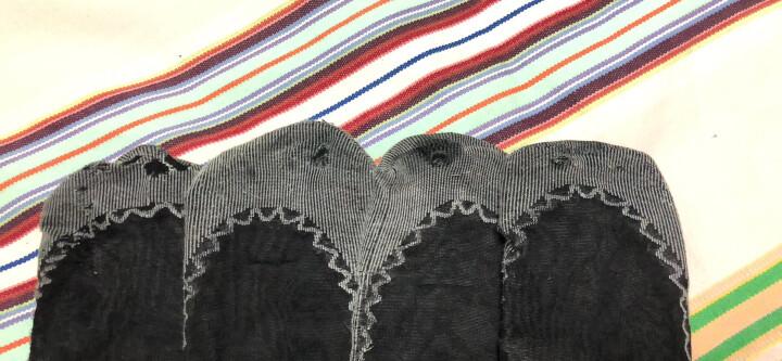 菲丝琳【10双装】防滑棉底短丝袜春夏薄款包芯丝短袜 女 5灰5咖啡 均码 晒单图