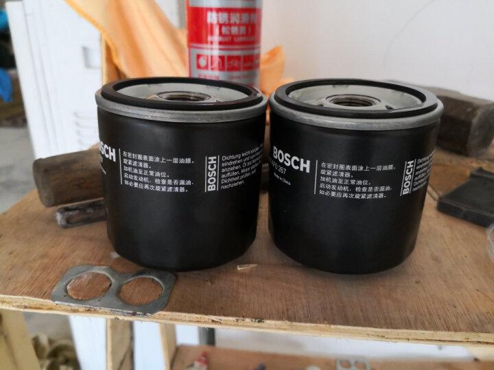 博世(BOSCH)机油滤芯|滤清器|机油格|机滤 大众凌渡1.4T 晒单图