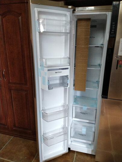 LG 643升超大容积对开门冰箱 风冷 线性变频 门中门 透视窗 钛空银 GR-Q2473PSA 晒单图