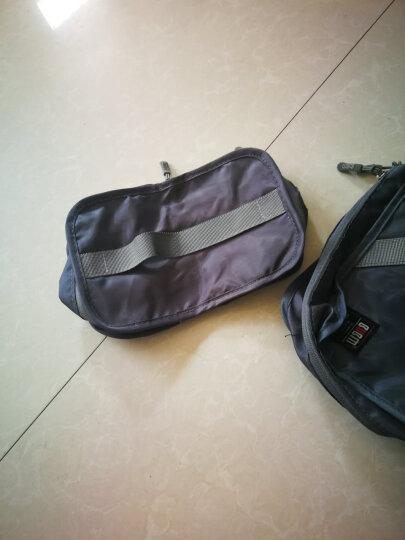 必优美 BUBM 收纳包 旅行洗漱收纳套装7件套 行李箱衣服整理收纳袋 轻质防泼水 QJT荧光绿 晒单图