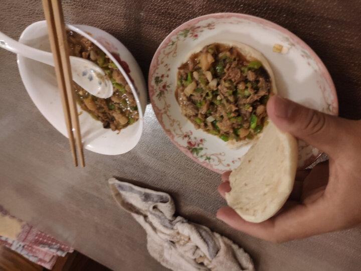 福成美食家 肉夹馍饼胚  220g(2个 早餐 培根香肠伴侣 加热即食) 晒单图