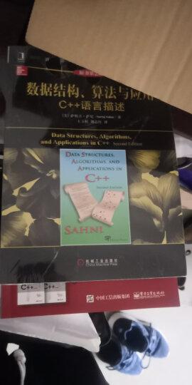 计算机科学丛书·数据结构、算法与应用:C++语言描述(原书第2版) 晒单图