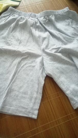 红豆(Hodo)男童纯棉家居服中大童夏季卡通印花短袖套装HDT1721灰色130 晒单图
