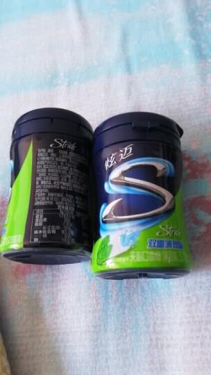 炫迈(Stride)无糖夹心口香糖 双重薄荷味 解馋糖果零食 28粒装 (新老包装随机发货) 晒单图