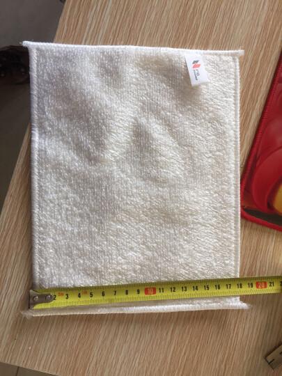 户清 洗碗巾洗碗布百洁布竹纤维不易粘油刷锅洗碗加厚抹布清洁去油 3条装 晒单图