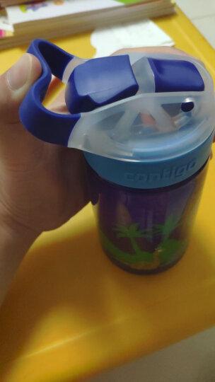 contigo 儿童水杯吸管夏季便携运动水杯小发明家400ML太空旅行HBC-GIZ016 晒单图