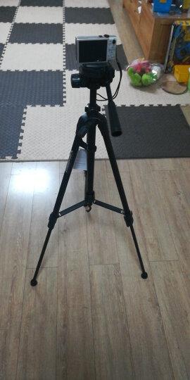 伟峰(WEIFENG)WT-3520B 数码相机/卡片机微单脚架 手机直播自拍支架 铝合金轻便三脚架 蓝牙遥控 晒单图