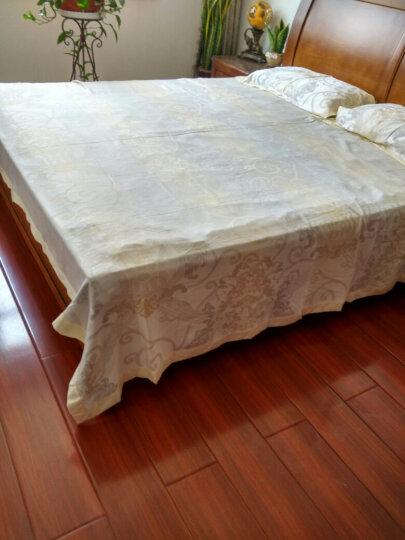 unalice竹纤维凉席三件套床单亚麻软席子儿童单双人夏凉毯可水洗空调席 6018灰 1.8床凉席三件套 晒单图