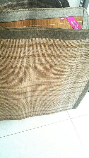 百富帝(byford)凉席竹席 可折叠双面碳化凉席竹藤席子双人1.8米床用 杭州镜面席(不含枕套) 晒单图