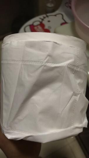 洁柔(C&S)无芯卷纸 自然木黄色纸 加厚4层70g卫生纸*12卷(母婴健康用纸 实芯卷纸 低白度类本色纸巾 ) 晒单图
