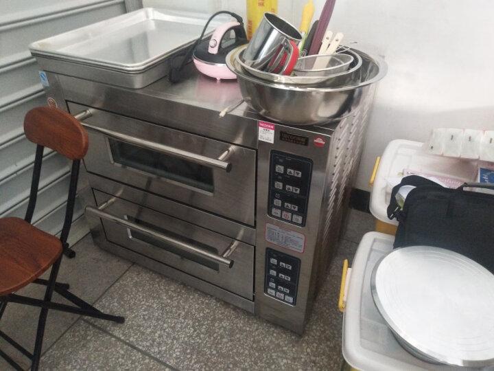 乐创(lecon)商用蛋糕柜冷柜冷藏保鲜柜台式除雾玻璃陈列柜水果饮料寿司熟食柜面包展示柜 黑色弧形风冷带防雾 台式后开门0.9米*0.5*0.78 晒单图