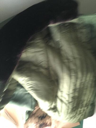 悍顿(HanDun) 悍顿荒漠防寒服棉袄子男款加厚款保暖冬季军大衣长款男棉大衣 优质黑大衣(合格质检报告-白棉花)五斤以上 小号 晒单图