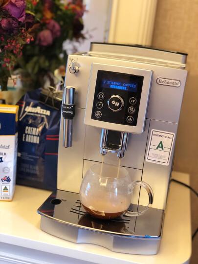 德龙(Delonghi)咖啡机 全自动咖啡机 欧洲原装进口 家用 商用 办公室 自带打奶泡系统 ECAM22.110.SB 晒单图