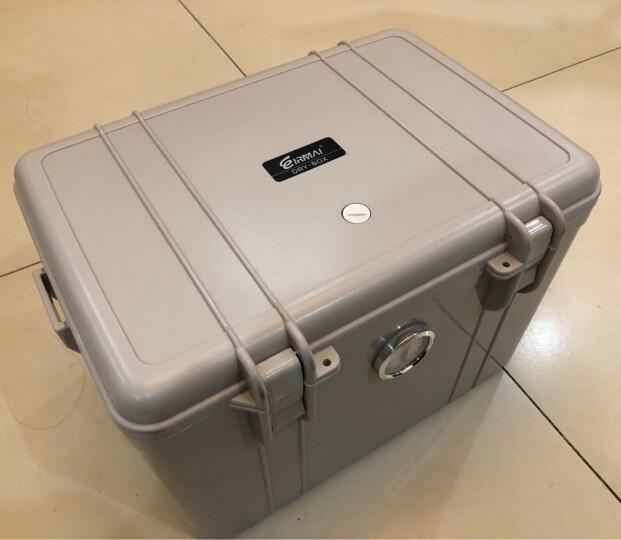 锐玛(EIRMAI) R21 防潮箱 干燥箱 防霉箱 镜头防水密封箱 大号 送大号吸湿卡 炫灰色 晒单图