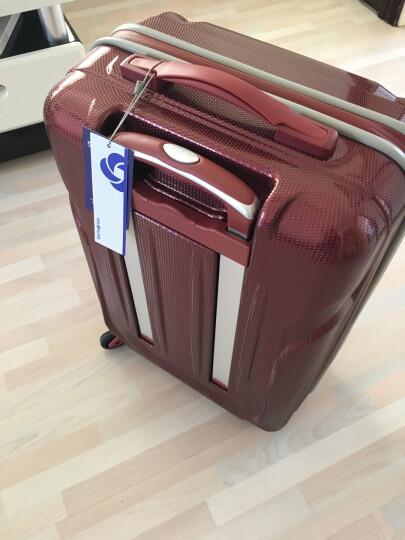 新秀丽拉杆箱万向轮行李箱男女旅行箱密码箱Samsonite登机箱61Q蓝色20英寸 晒单图