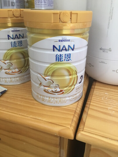 雀巢(nestle)能恩 蜂蜜口味儿童配方奶粉 4段(3-6岁儿童适用)400克 晒单图