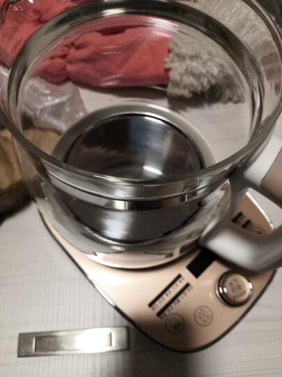 小熊(Bear)养生壶煮茶器煮茶壶电水壶热水壶烧水壶电热水壶迷你玻璃花茶壶黑茶YSH-A15W6带滤网1.5L 晒单图