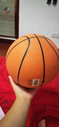 红双喜蓝球儿童小学生正品室内外耐磨水泥地lanqiu 7号篮球FB034 送打气筒气针网兜 晒单图