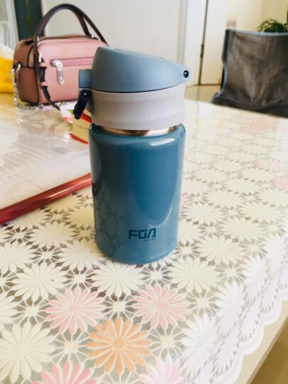 富光 保温杯儿童学生真空杯不锈钢弹盖水杯男女士商务办公泡茶杯子 咖啡色500ml 晒单图