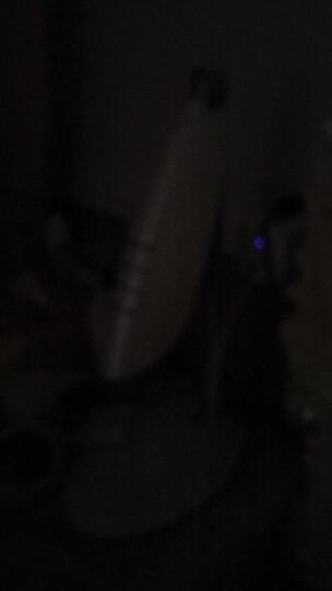 美的(Midea)充电款 LED台灯 工作灯 学生卧室床头 学习阅读灯 品雅/白色 4000K 晒单图
