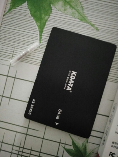 KDATA 金田32G/64G/120GBSSD固态硬盘台式机笔记本SATA3电子硬盘MLC非60g 64G  SATA3 MLC 黑色 晒单图