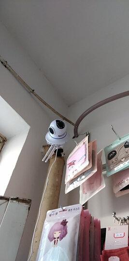 YESTV 监控摄像头家用监控器室内云台旋转摄像头室外商用手机远程小型摄像头无线监控wifi监控器 5MP广角超高清版 +128G卡礼包 2.8mm 晒单图