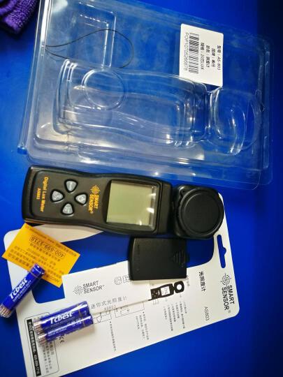 希玛 照度计测光仪高精度照度仪亮度计亮度测试仪袖珍型手持 官方标配AS803 量程20万LUX 晒单图