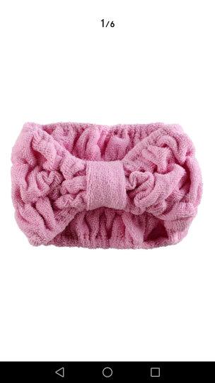干发帽女士吸水包头巾擦头发速干巾不掉毛加厚长绒浴帽 粉色圆点 晒单图