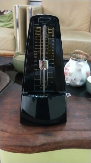 CHERUB 机械节拍器 钢琴节拍器 吉他小提琴古筝通用节拍器wsm-330 透明粉色 晒单图