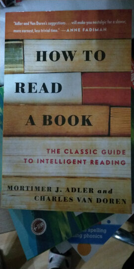 英文原版 How to Read a Book如何阅读一本书 莫提默艾德勒 进口原版 晒单图